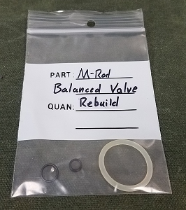 Marauder SS Balanced Valve O-Ring Kit